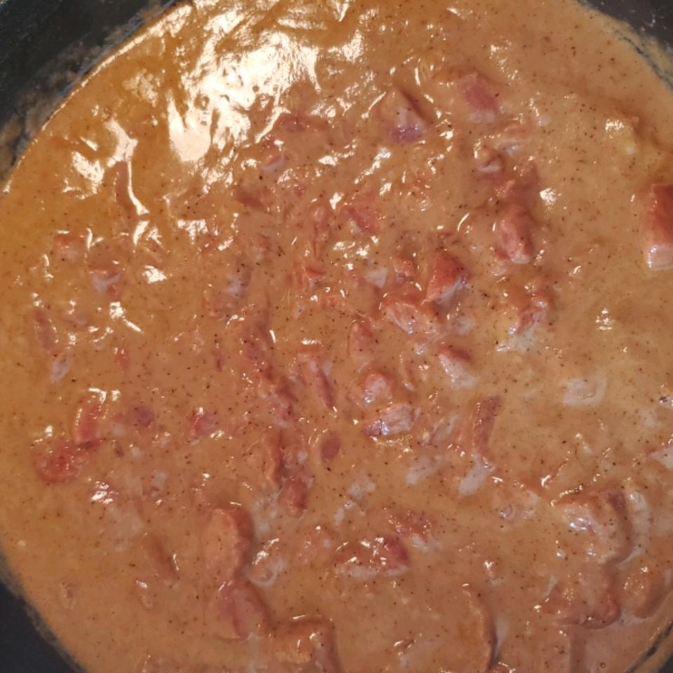 Southern Style Tomato Gravy Bella V.