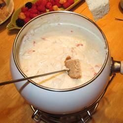 Crab Cheese Fondue