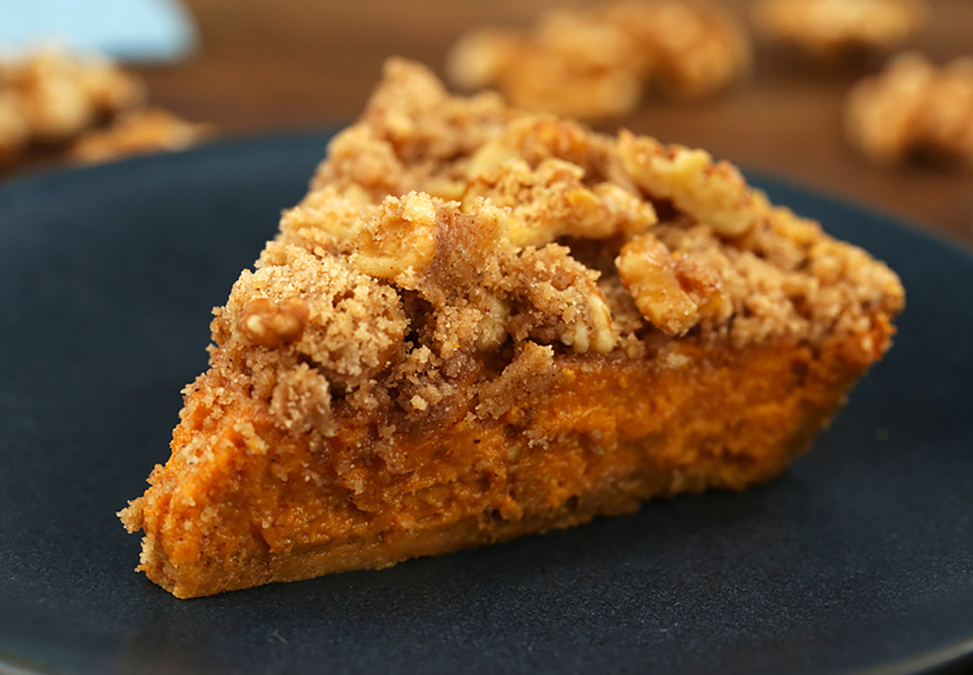 Harvest Walnut Pumpkin Pie Allrecipes