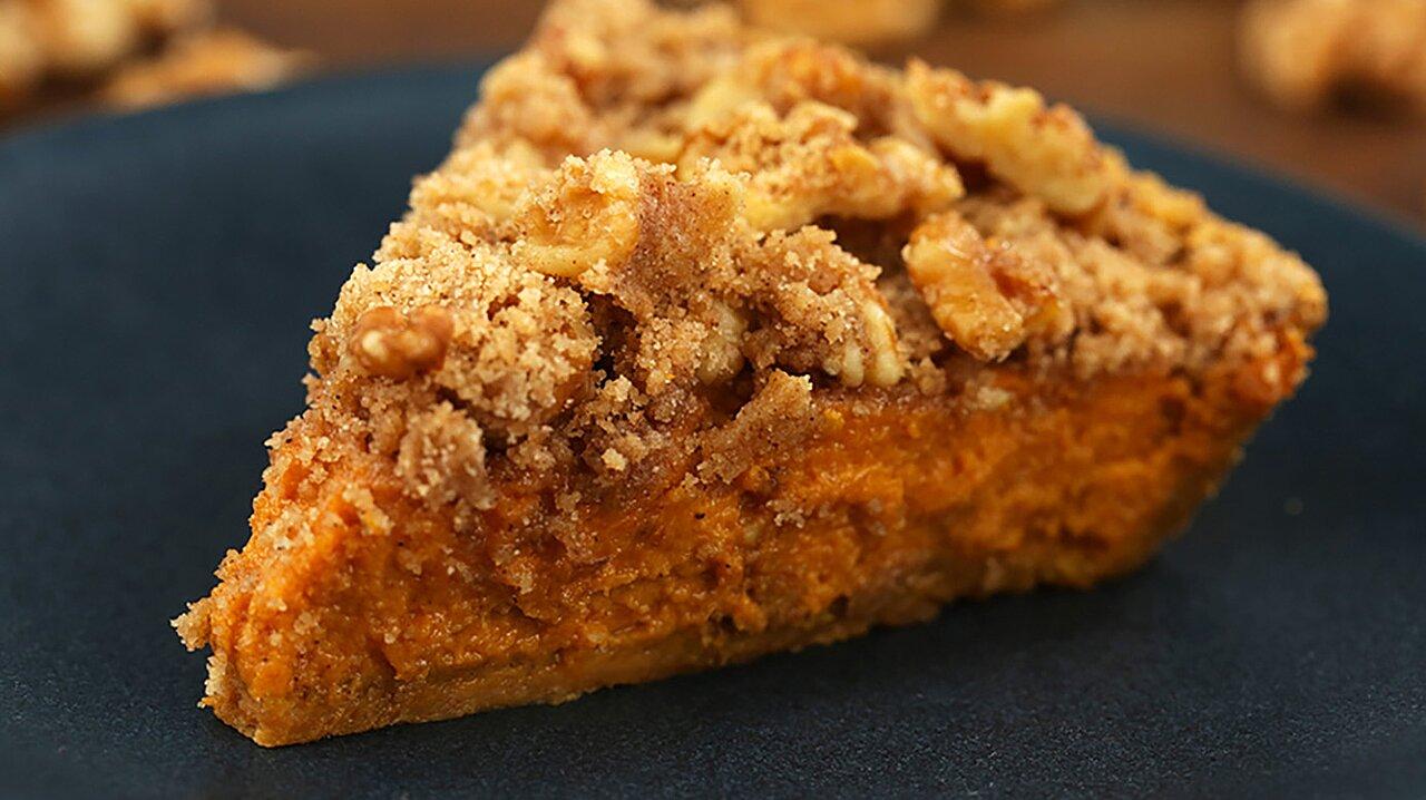 Harvest Walnut Pumpkin Pie