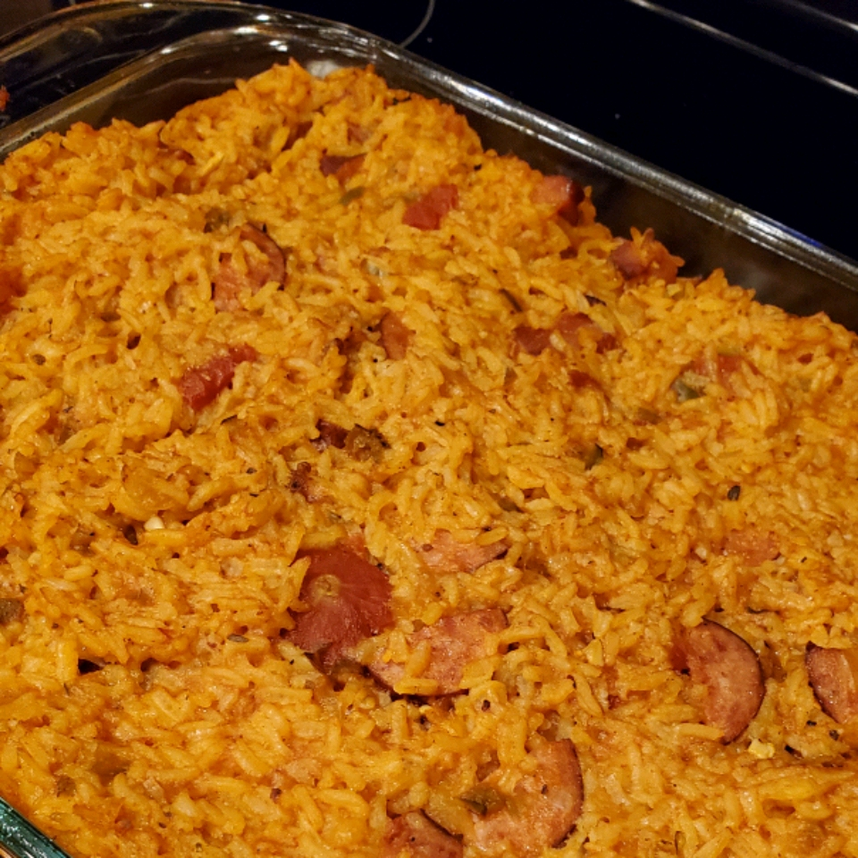 Red Rice and Sausage Jessica Donaldson