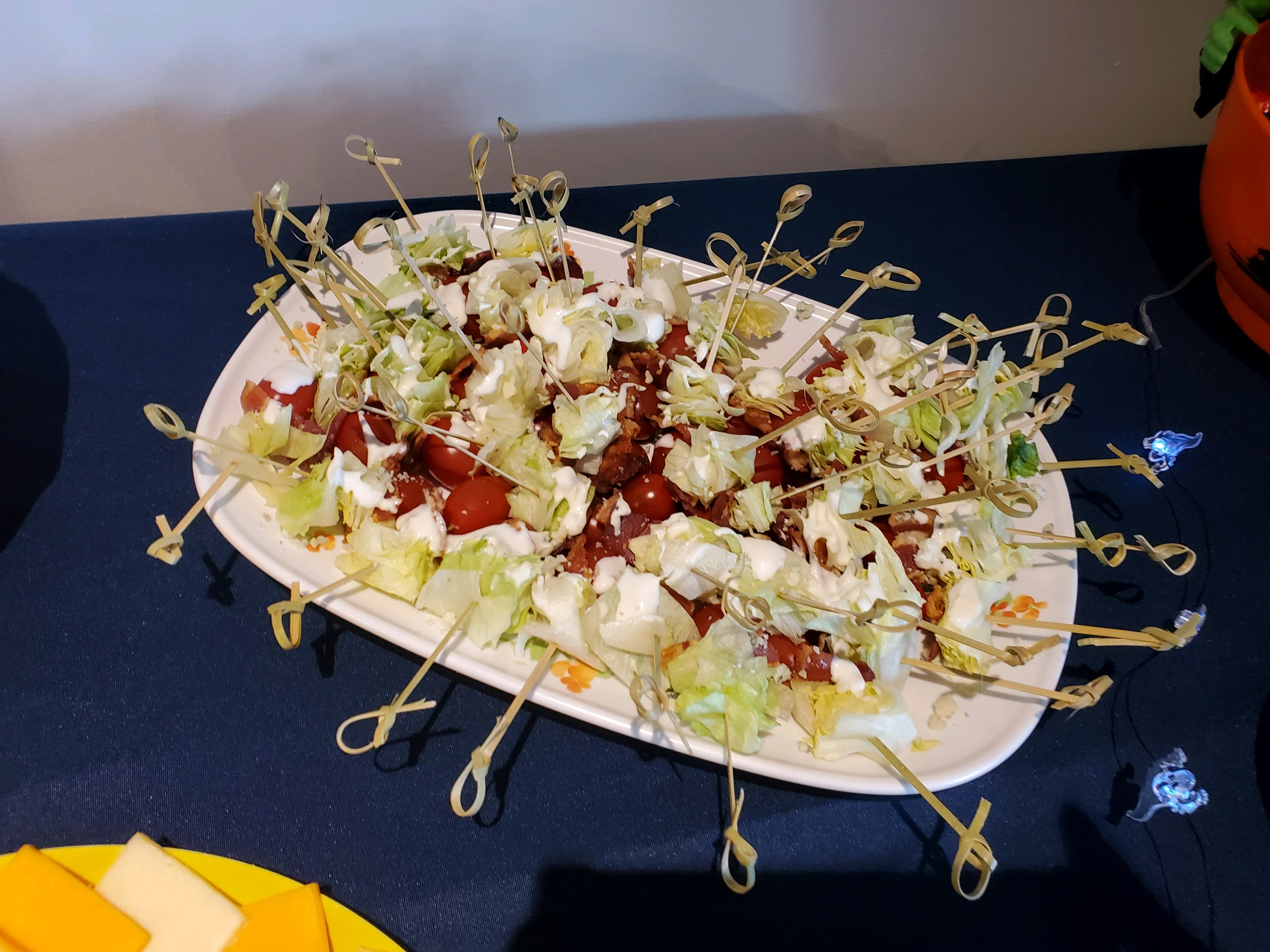 Wedge Salad on a Stick Gena Mock Thomas