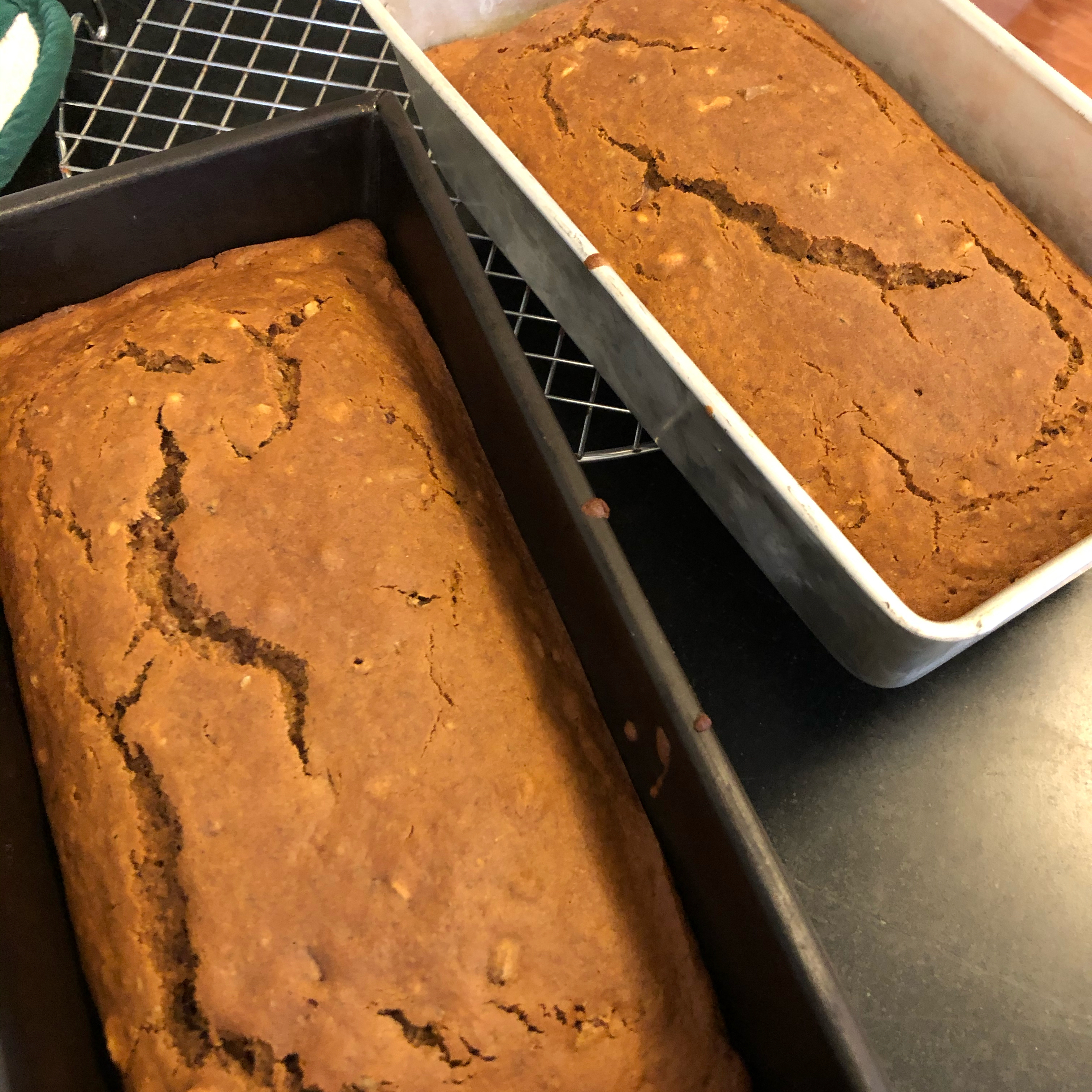 Banana Nut and Ginger Bread