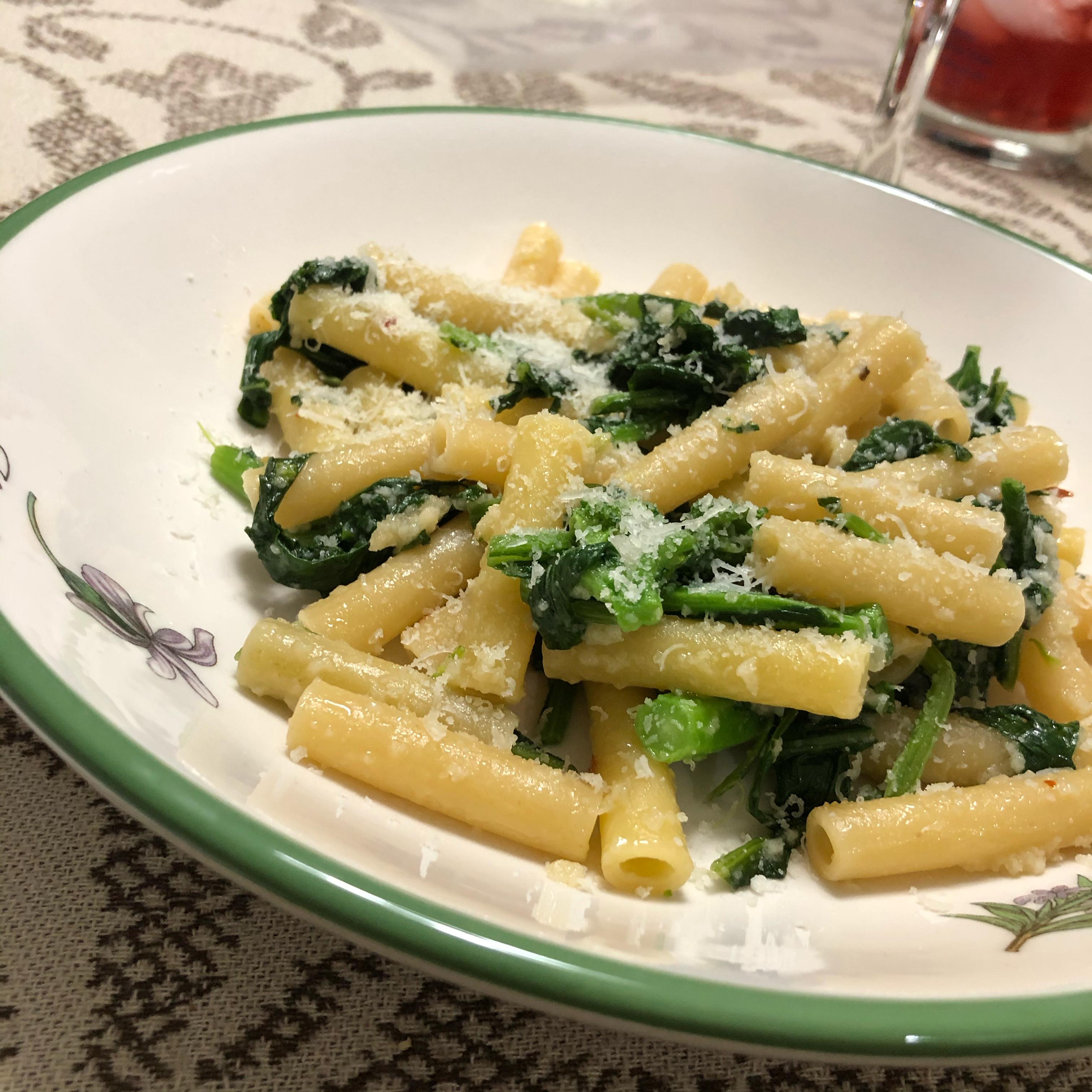 Pasta with Broccoli Rabe (Cima di Rapa)