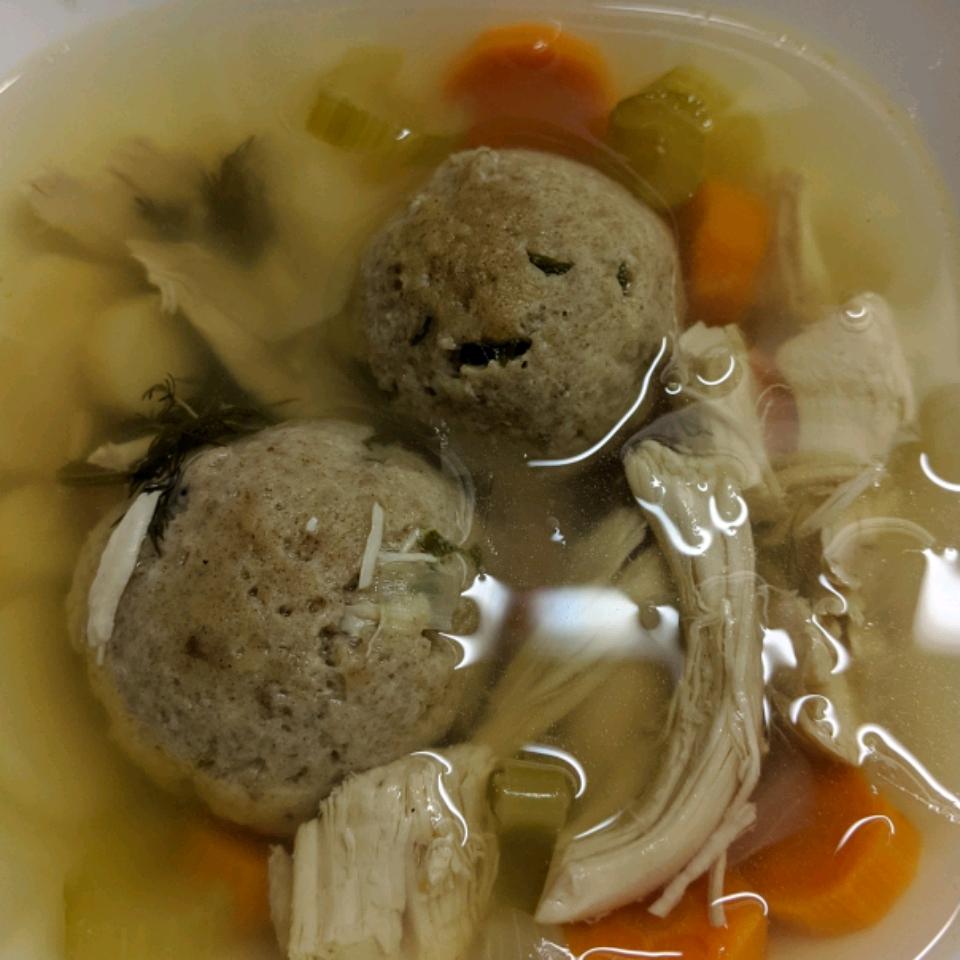Bubbie's Hearty Matzo Ball Soup JanElle