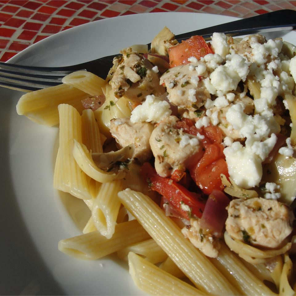 Greek Penne and Chicken Jennifer