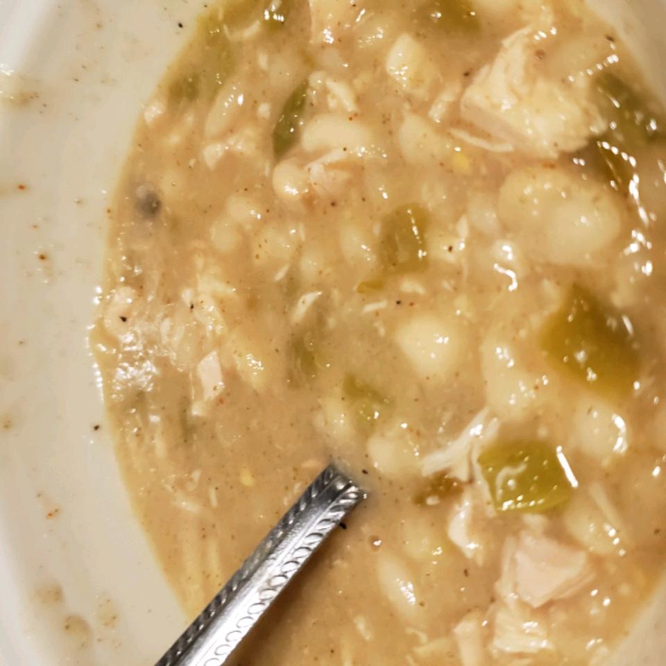 White Bean Chili Rebecca Davidson