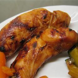 Easy Grilled Chicken Teriyaki amandak23k