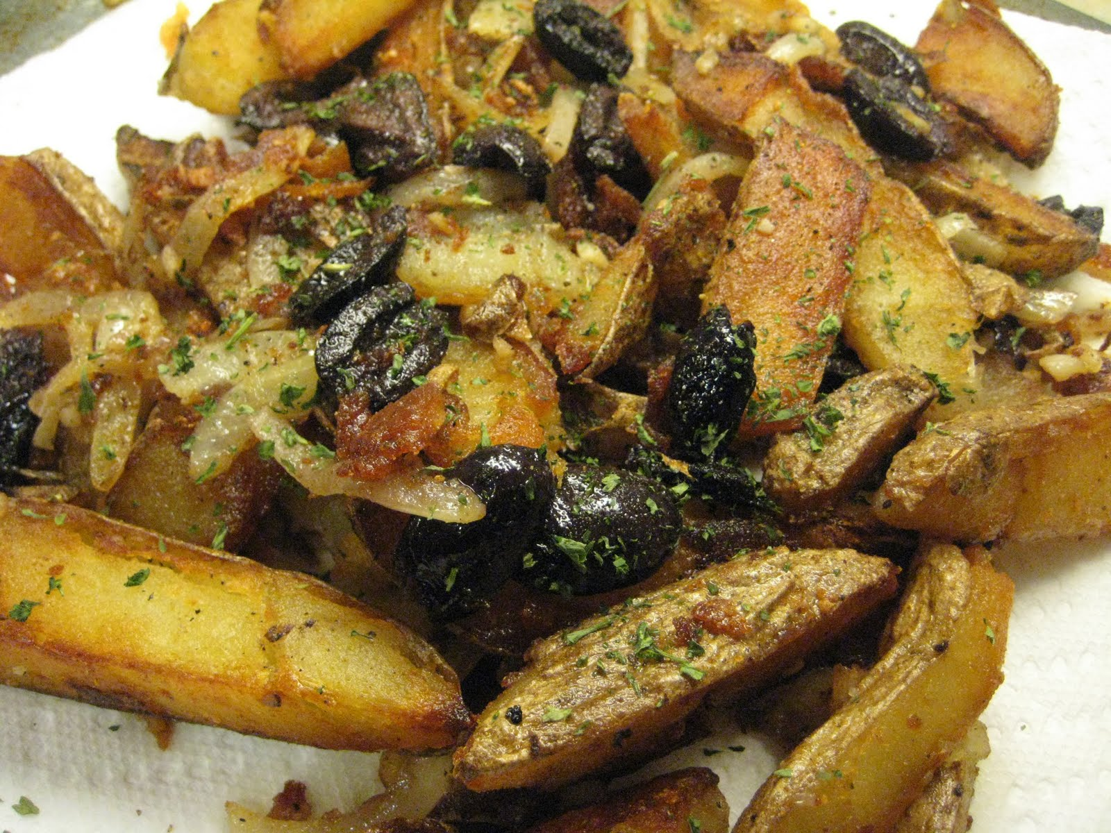 Italian Pan-Fried Potatoes