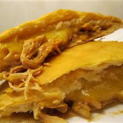 BBQ Chicken Calzones amandak23k