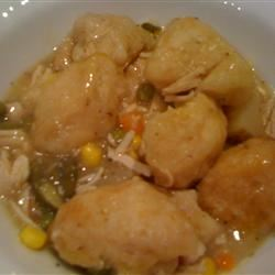 Campbell's® Slow-Cooker Chicken and Dumplings thedailygourmet