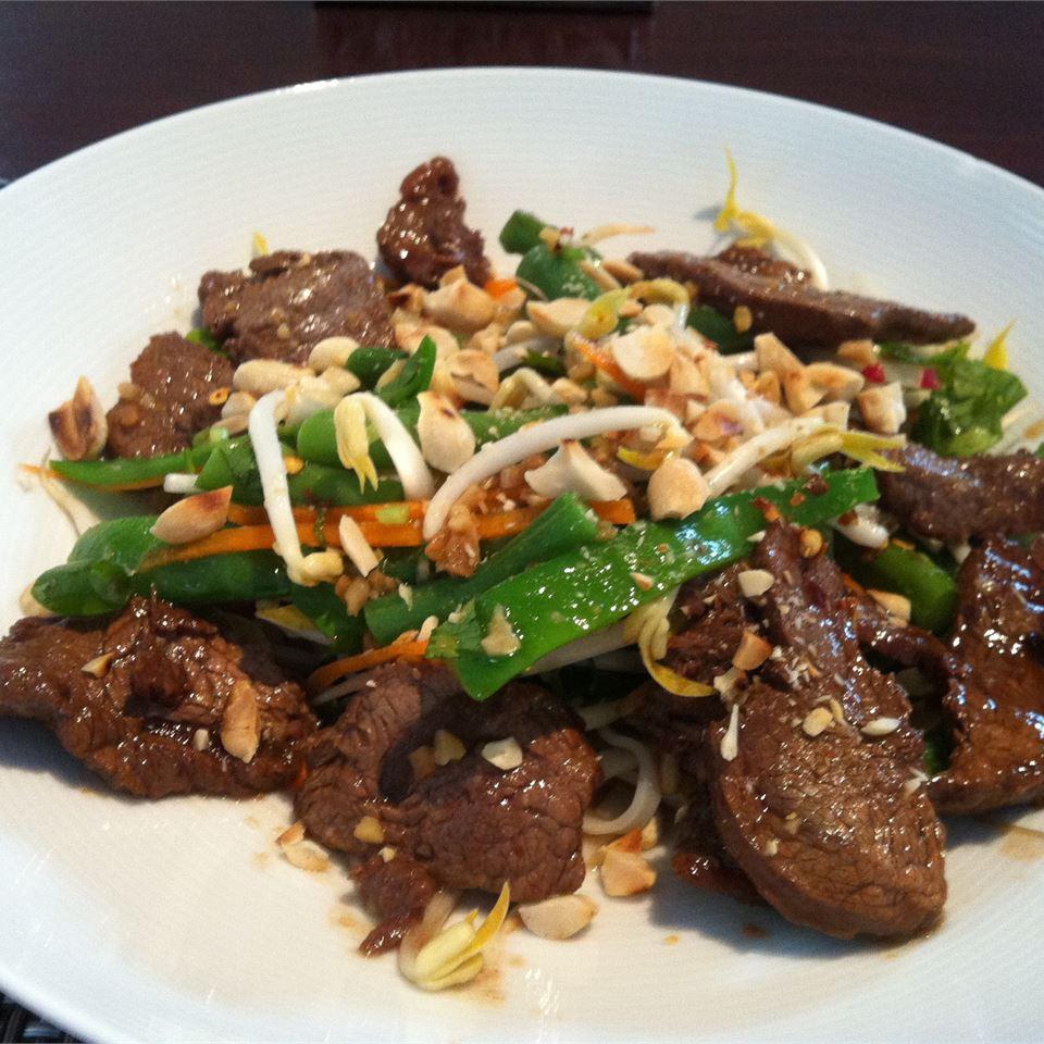 Thai Grilled Beef Salad Ann Maksymiw