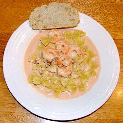 Pink Sauce for Pasta (Shrimp) Lesley