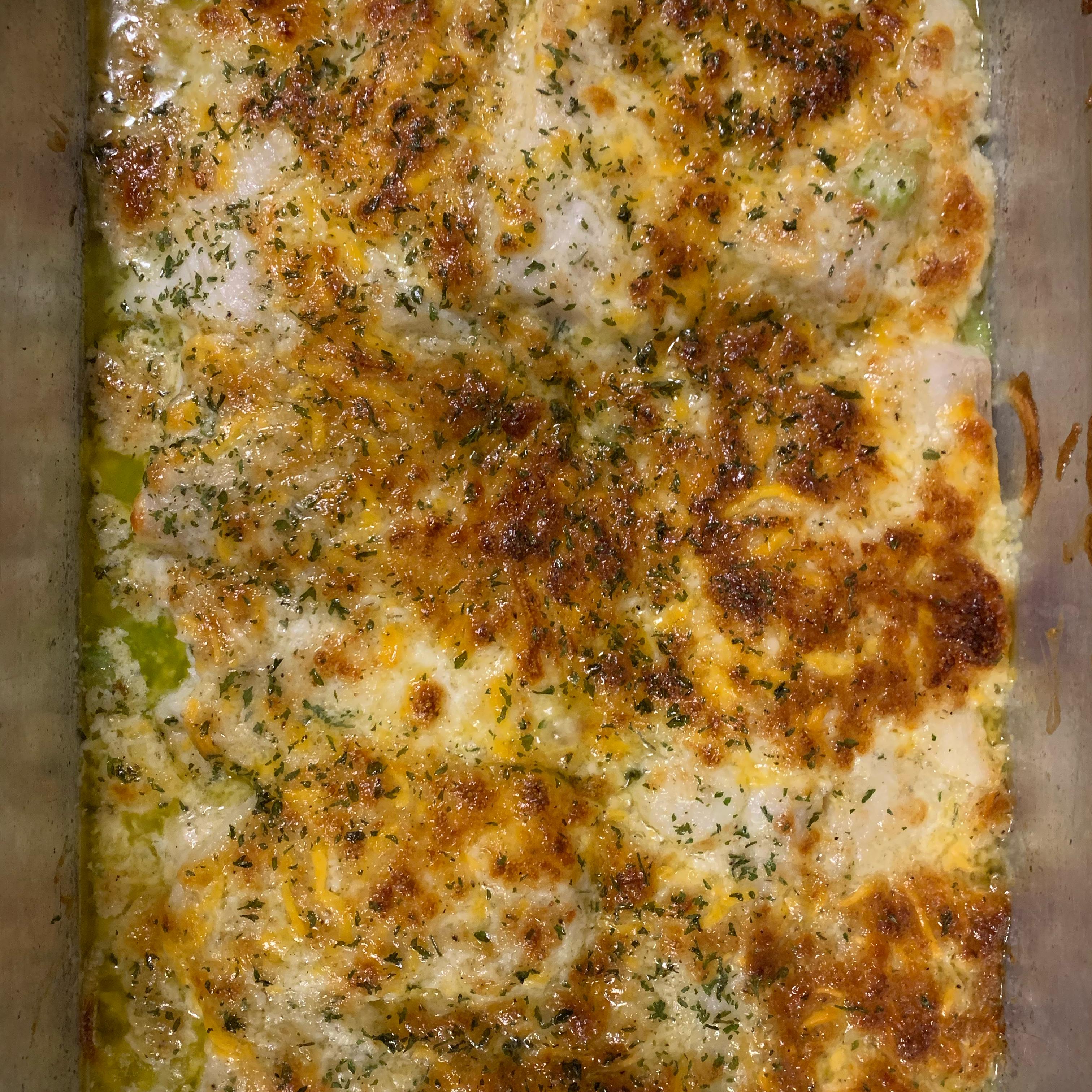 Cheesy Baked Fish Rubin Mcmillan