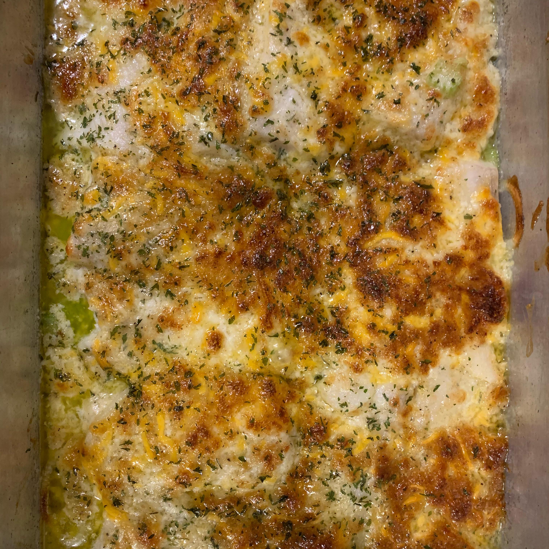Cheesy Baked Fish