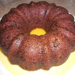 Grandma's Cranberry Orange Cake geneandeunice