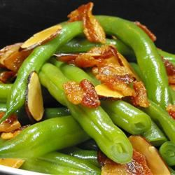 Green Beans with Almonds bellepepper