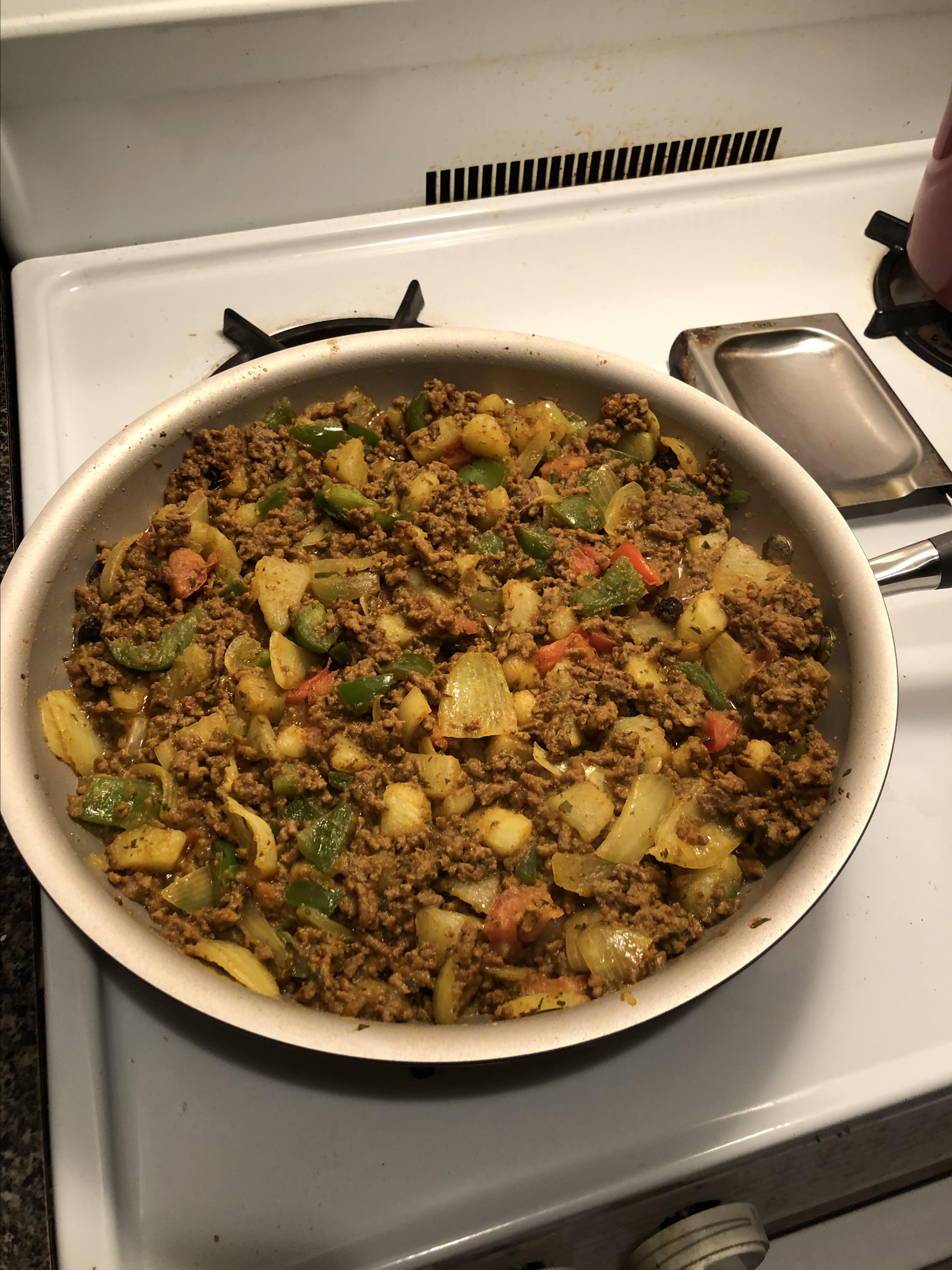 South Asian-Style Ground Beef (Keema)