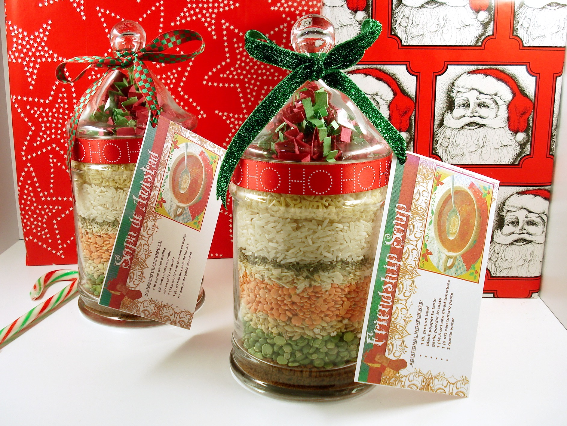 Friendship Soup Mix in a Jar Bea Gassman