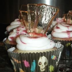 Bloody Broken Glass Cupcakes Kori Lavertue