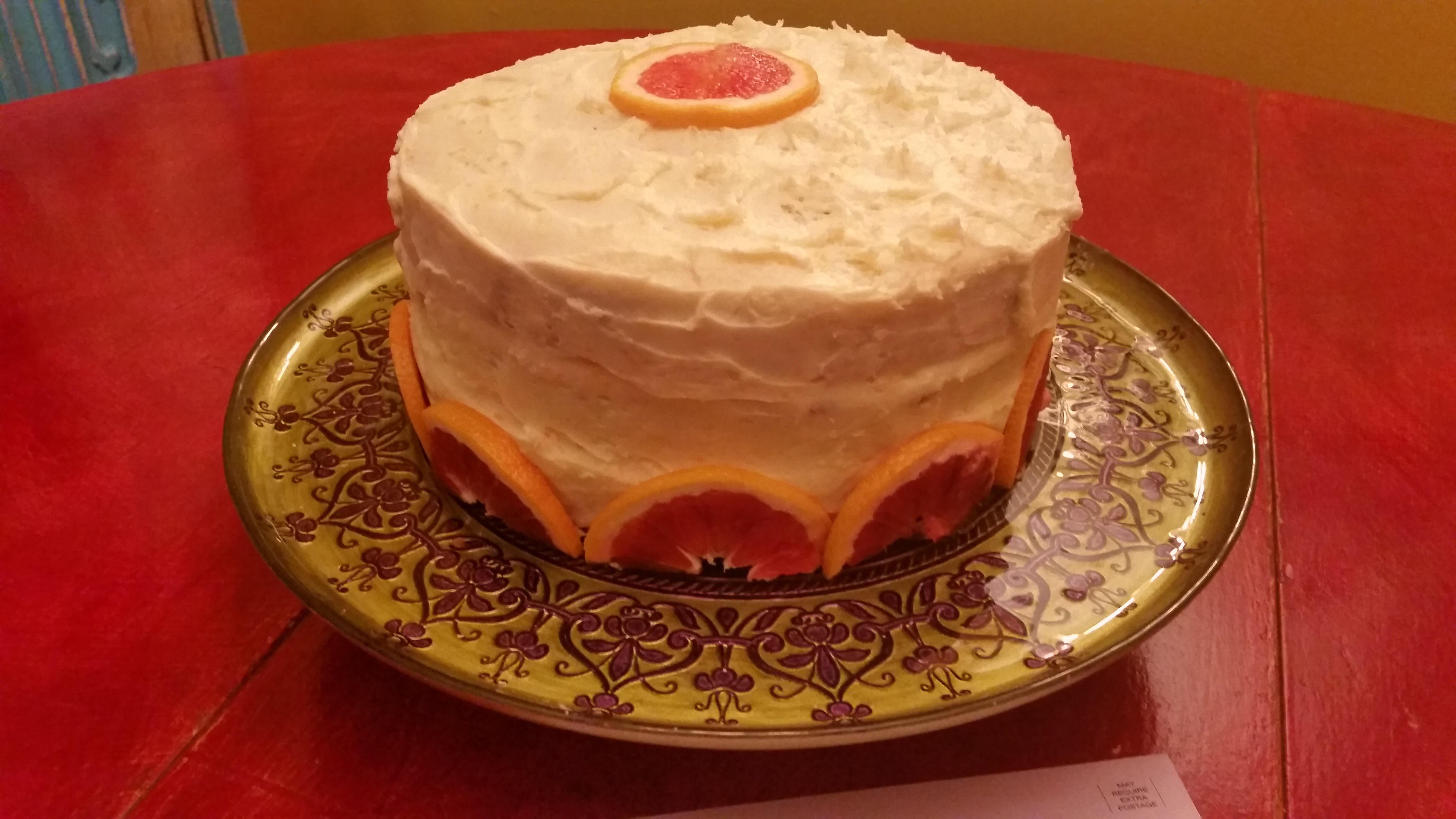 Williamsburg Orange Cake chefdujourr
