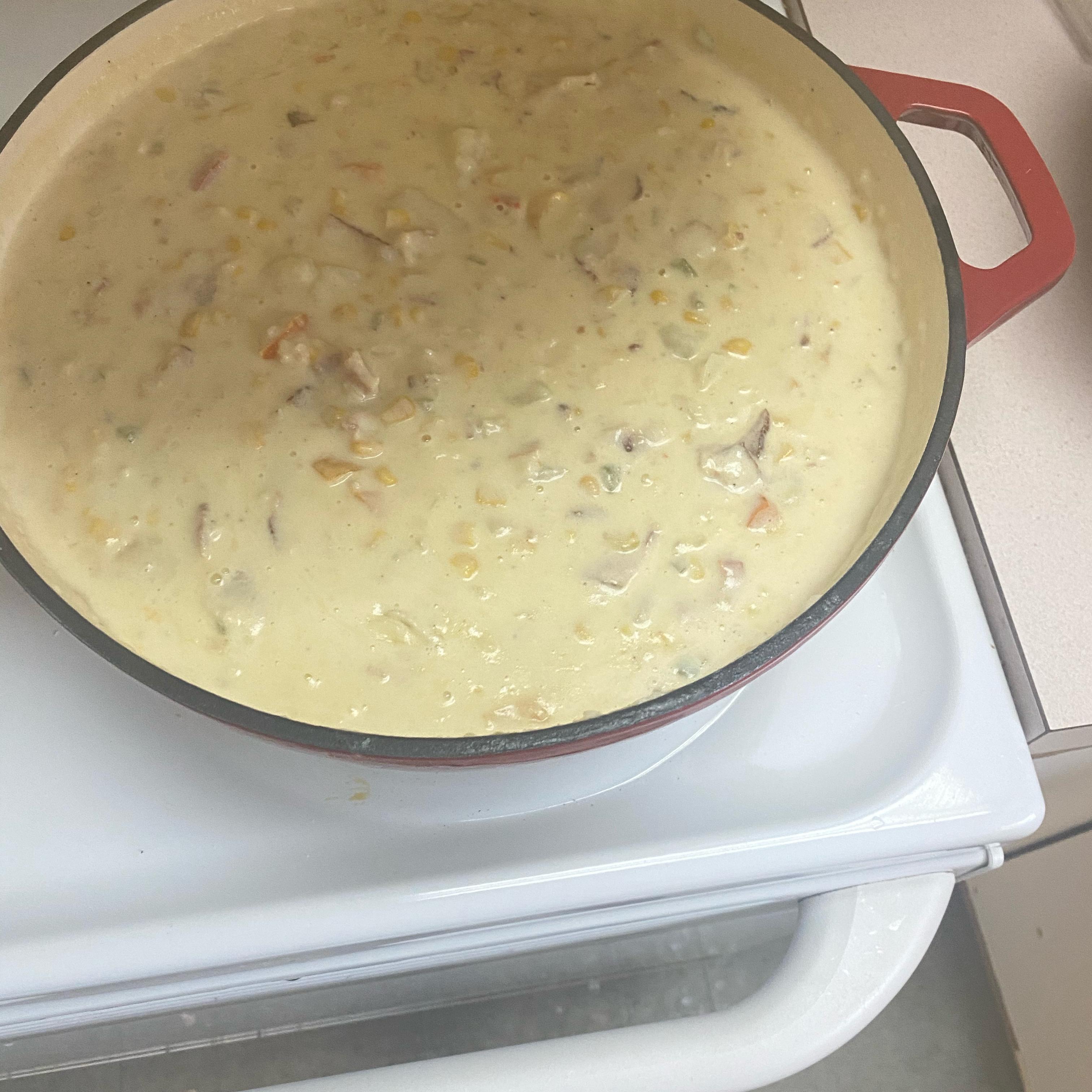 Potato Bacon Corn Chowder