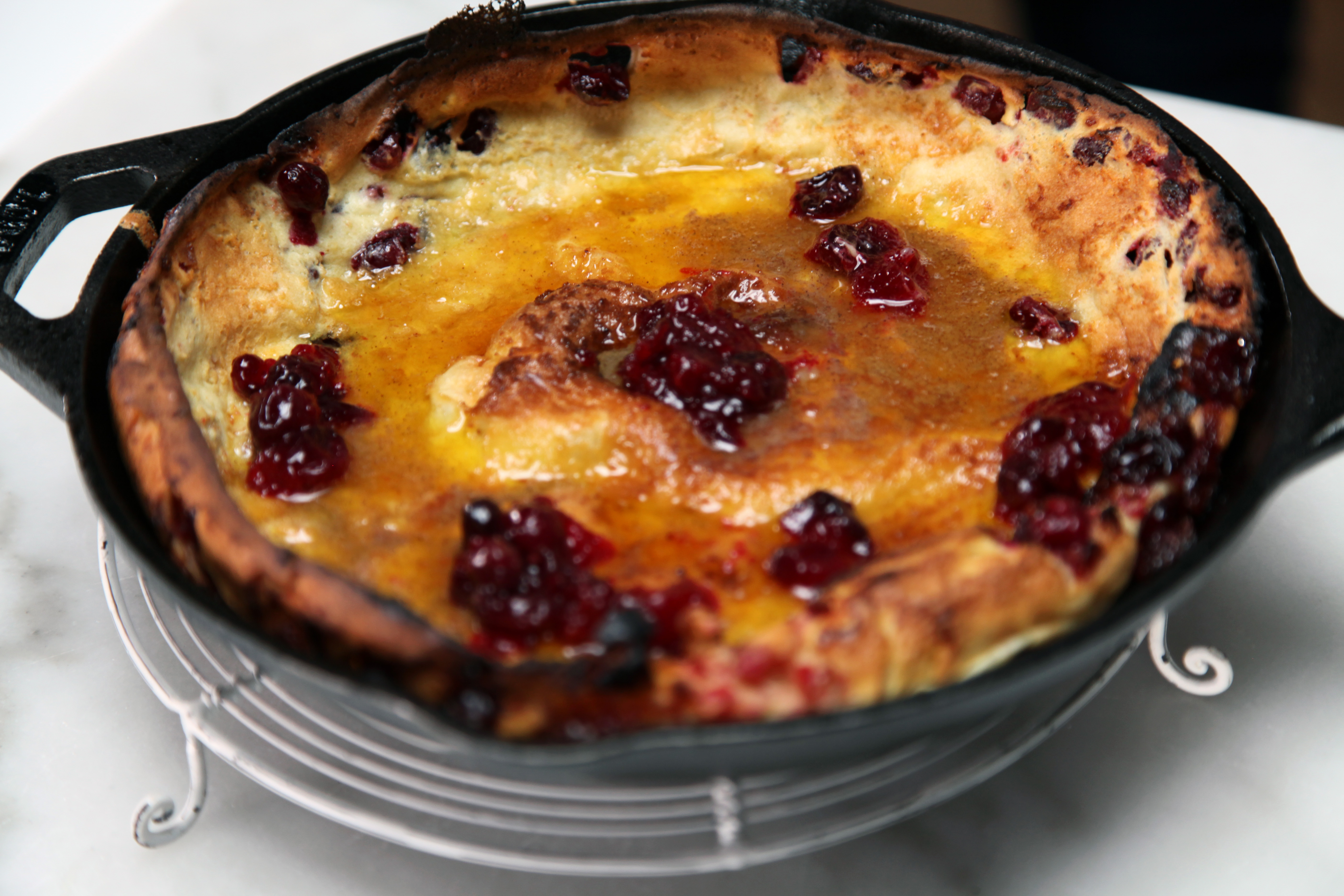 Cranberry Dutch Baby Smart Cookie