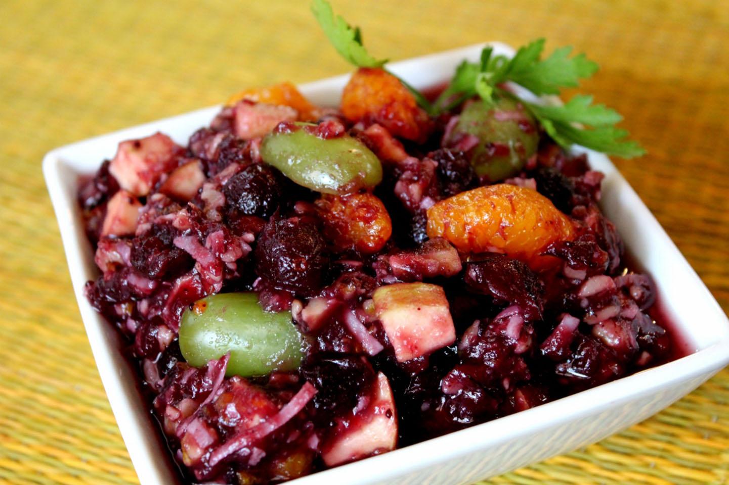 No Cook Cranberry Salad Lyndsay Rose