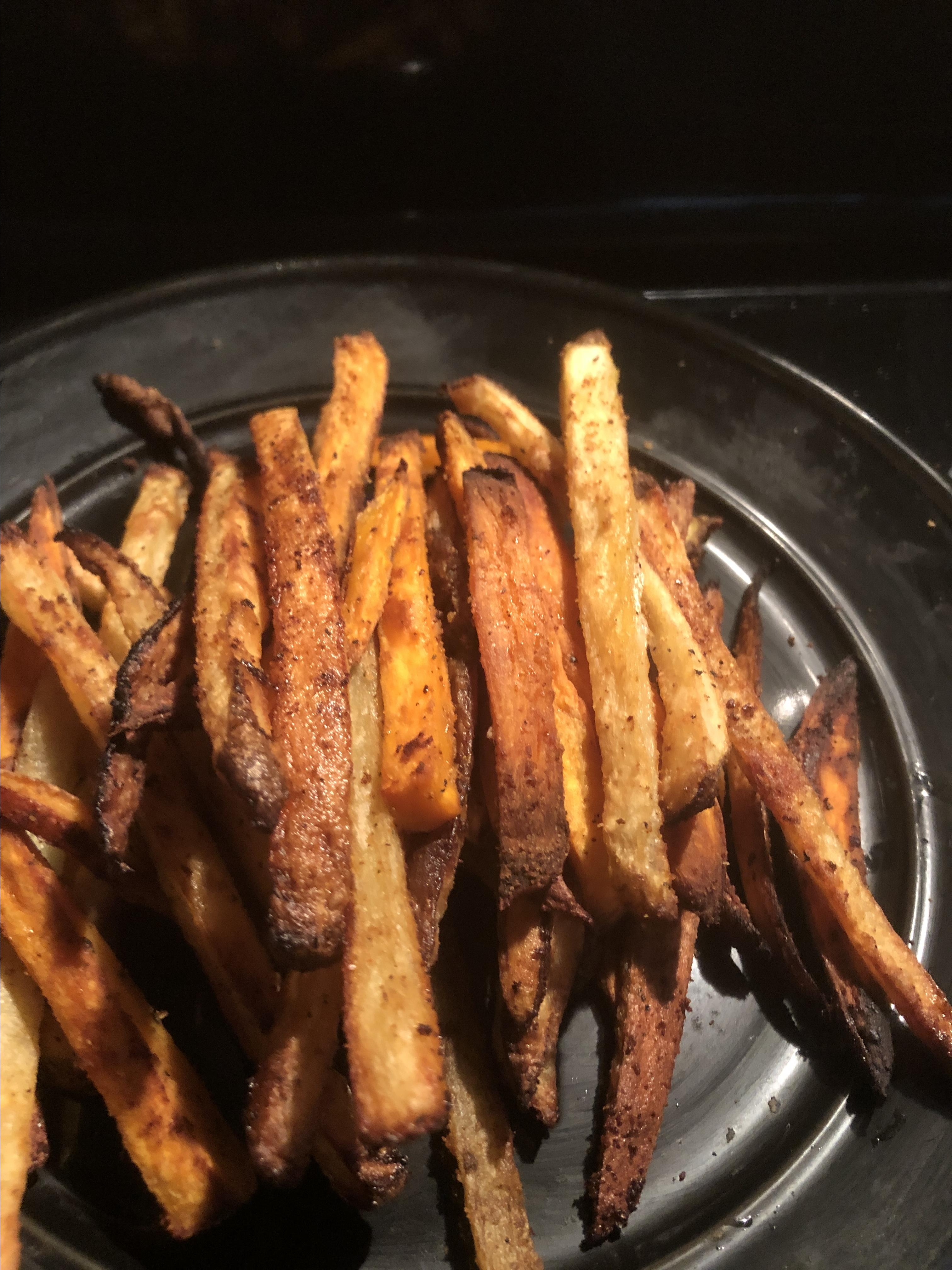 Baked French Fries I bailey wells