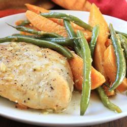 Golden Chicken and Autumn Vegetables Dianne