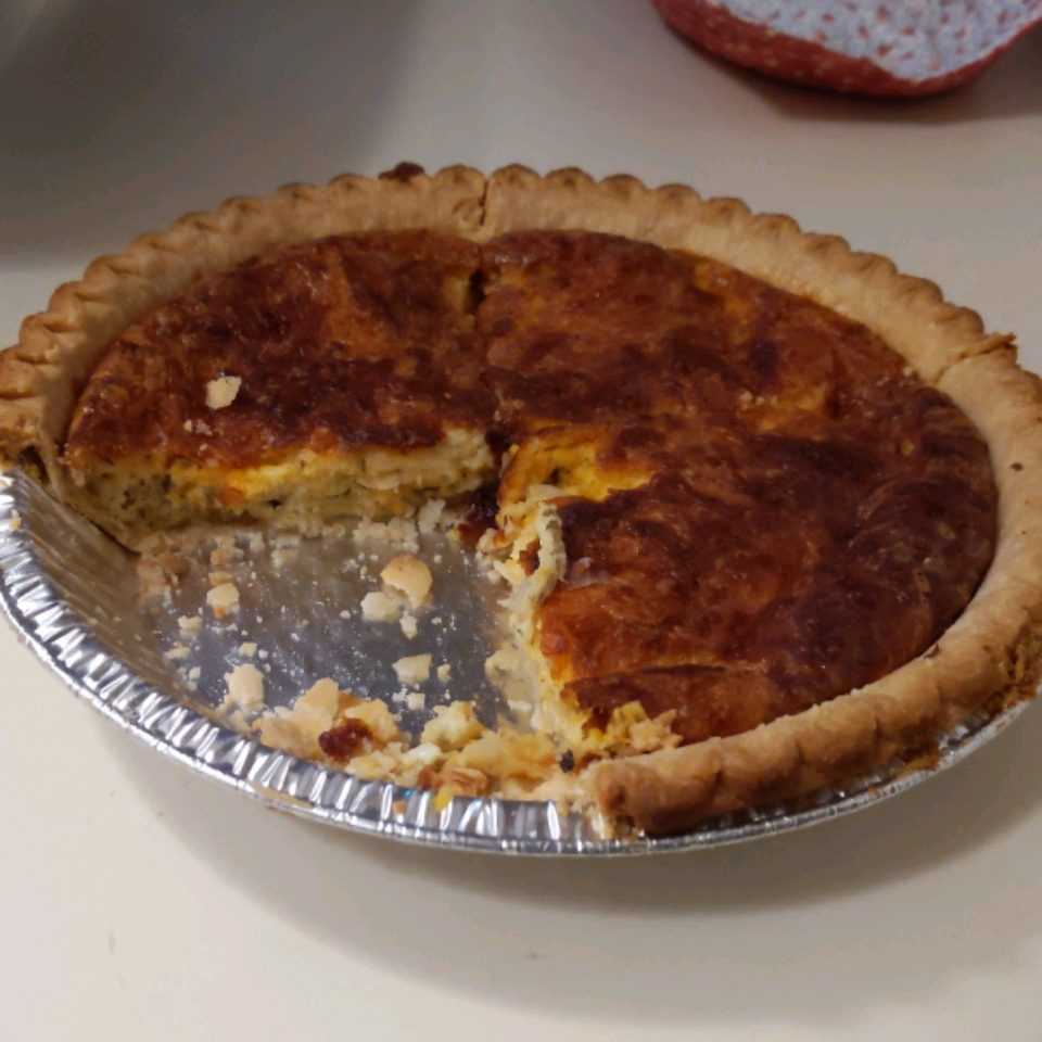 Donna's Cheesy Quiche Julie Laforet