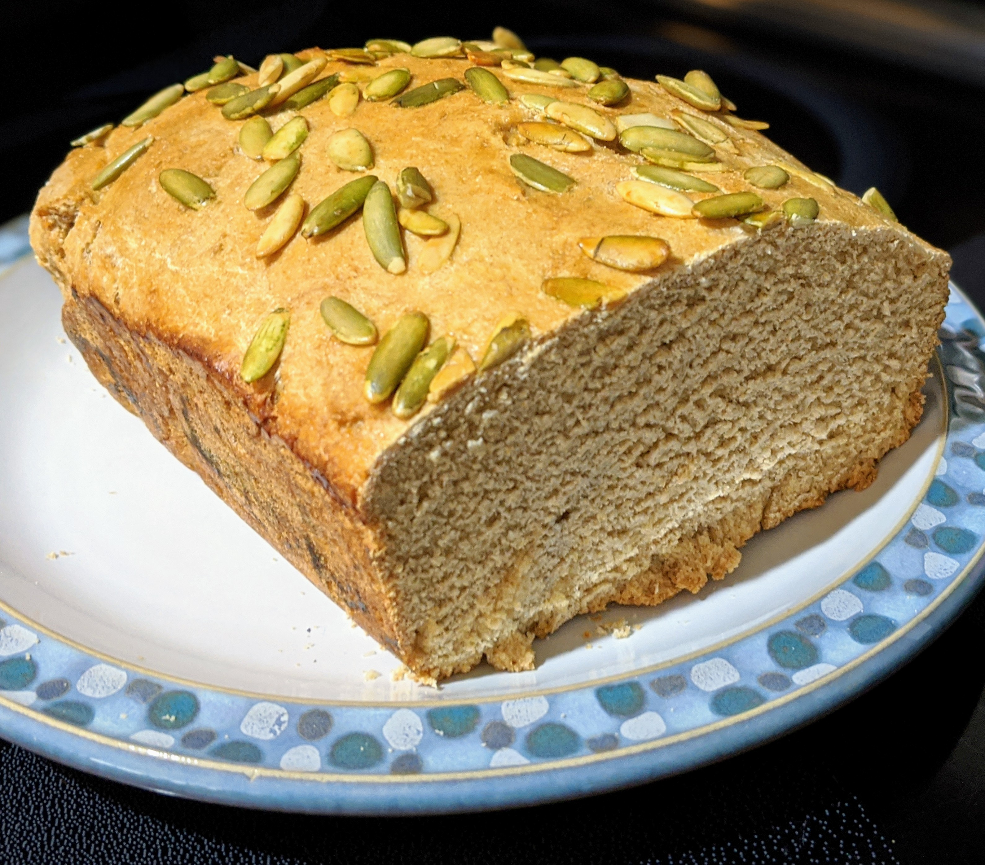 Pumpkin and Sunflower Seed Bread BakingBot