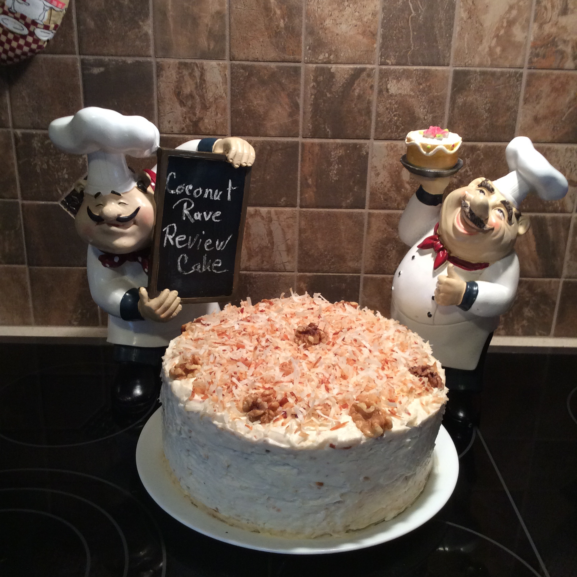 Rave Reviews Coconut Cake Karen