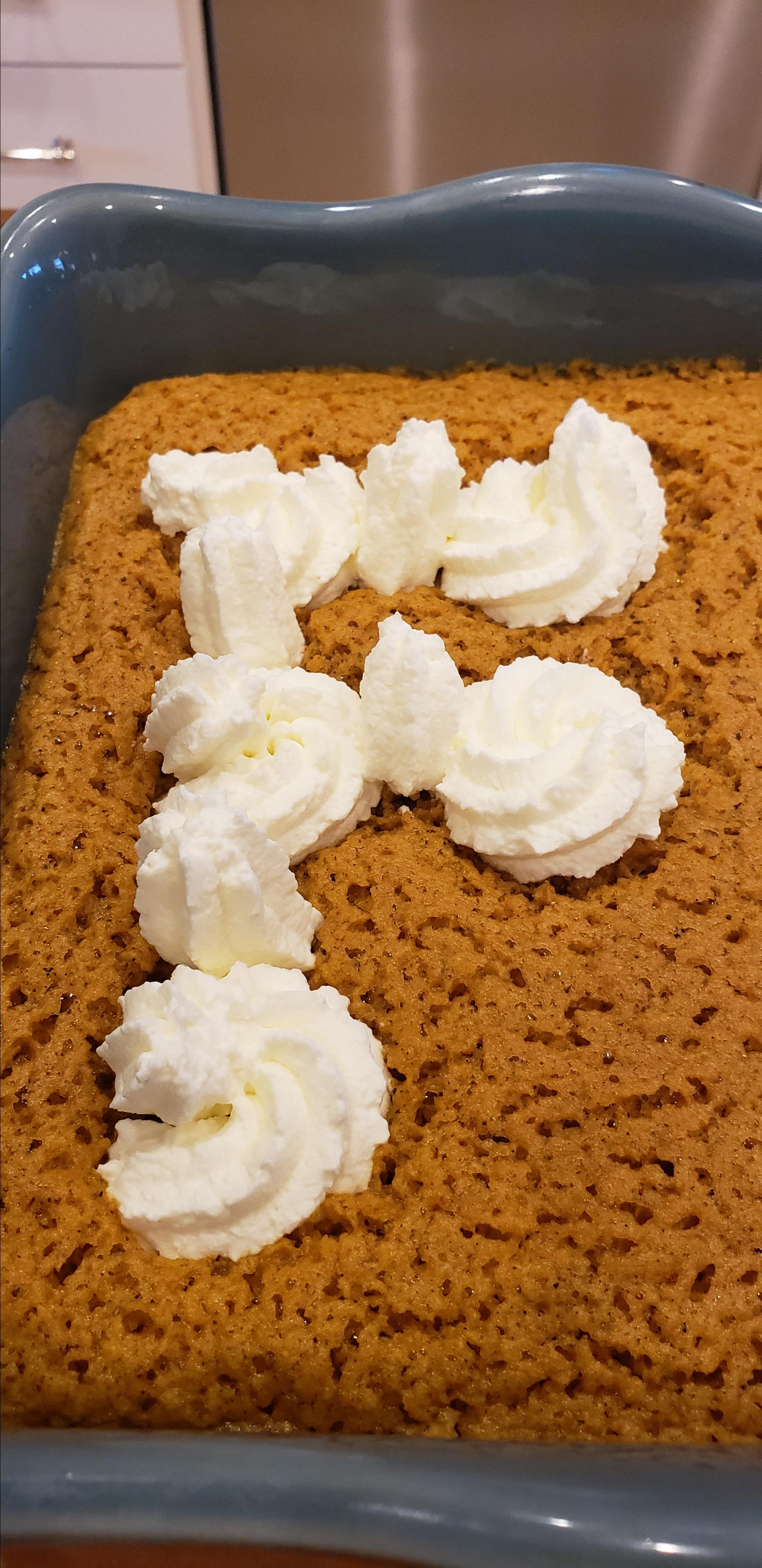 Pumpkin Chiffon Slab Pie