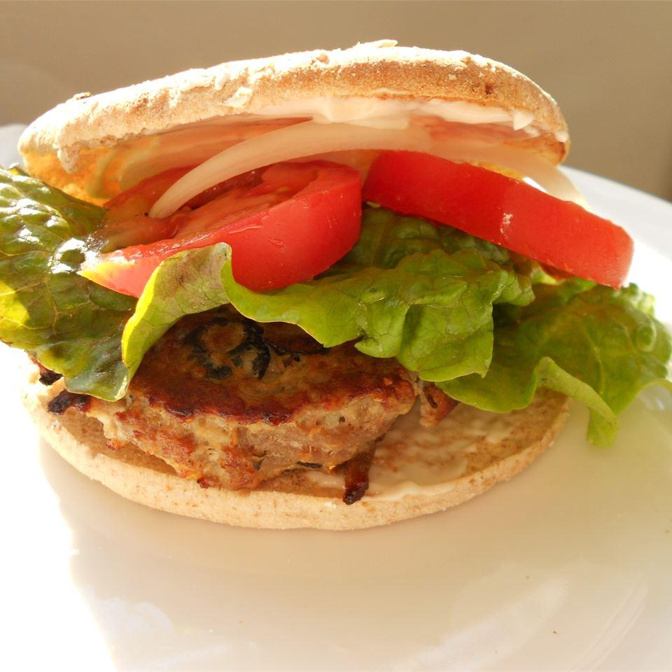 Feta Cheese Turkey Burgers Holiday Baker