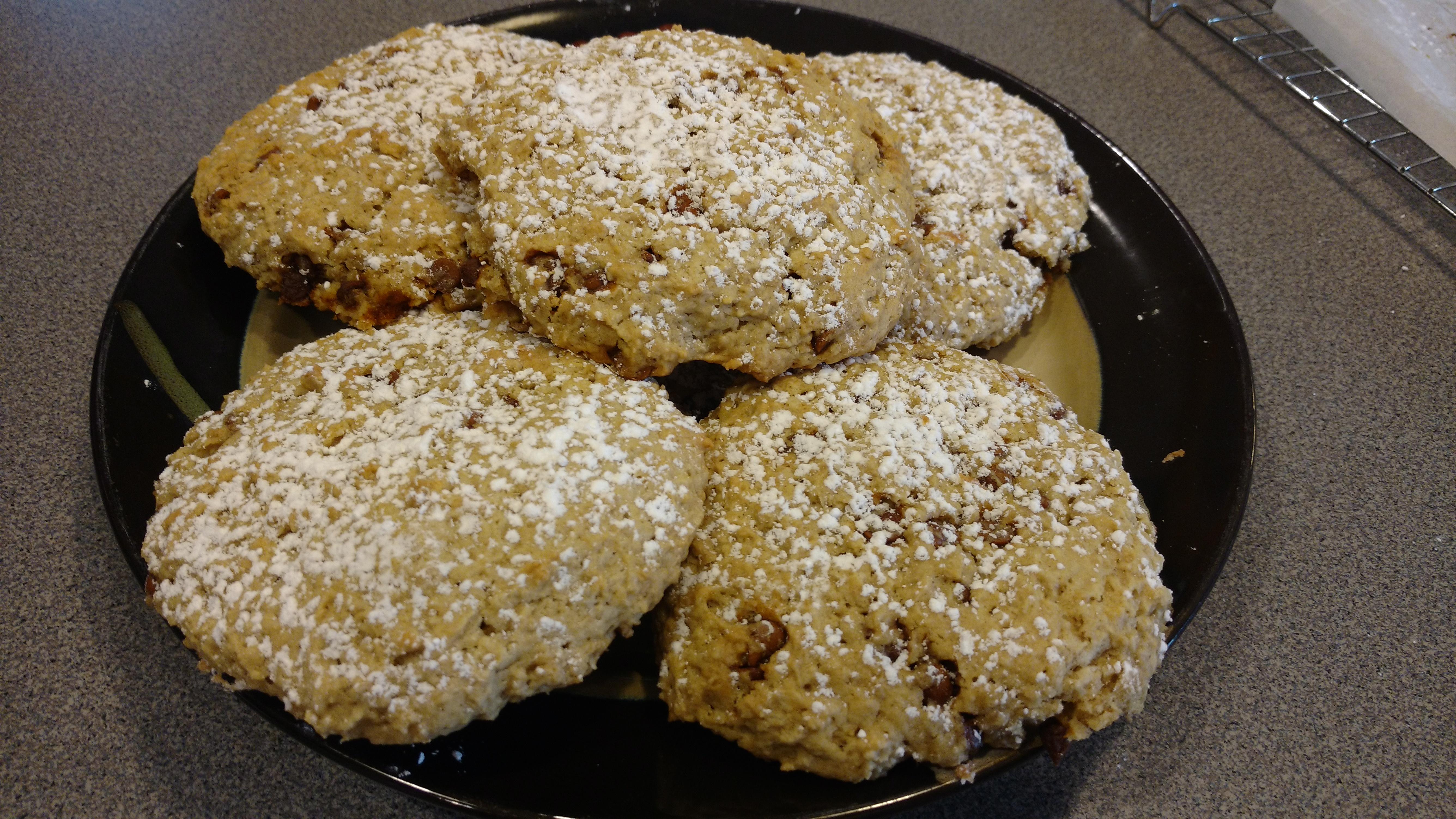 Buttermilk Oatmeal Scones