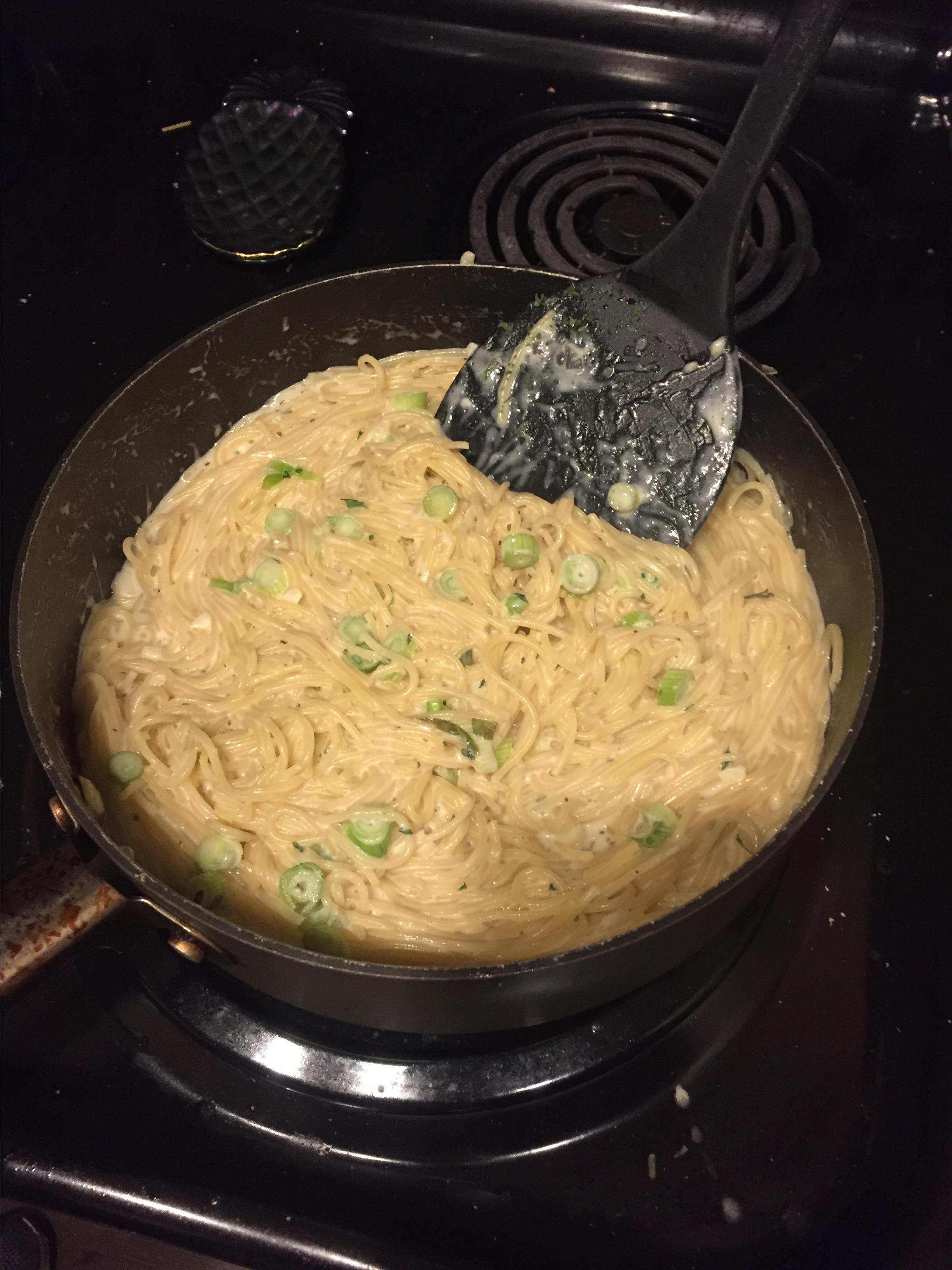 Creamy Garlic Pasta Erin Varley