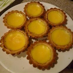 Hong Kong Style Egg Tarts