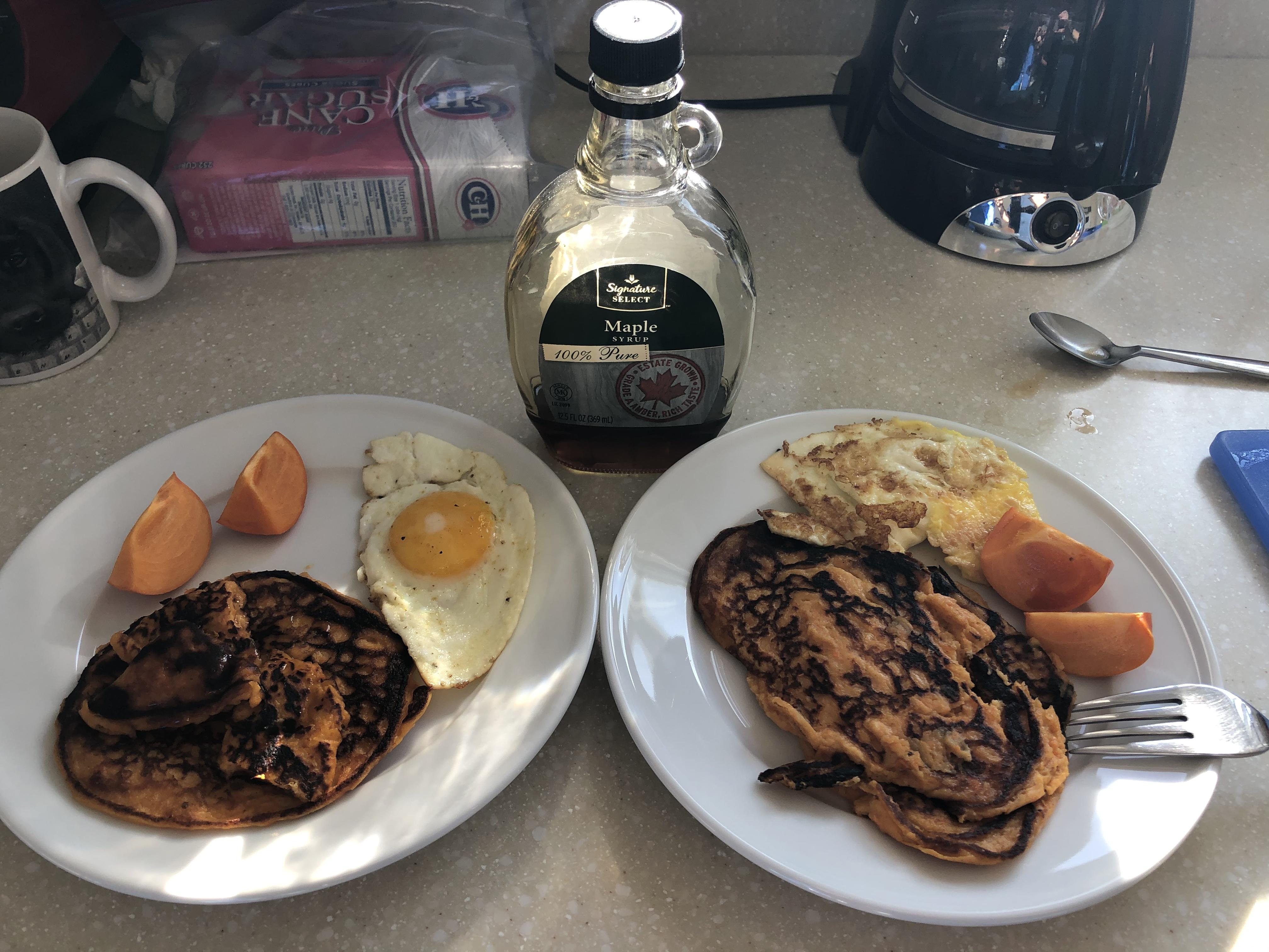 Sweet Potato Breakfast Pancakes Melody May