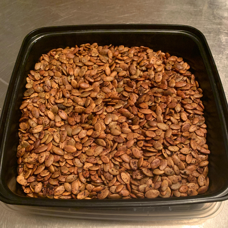 Seasoned Pumpkin Seeds Sessa Leigh