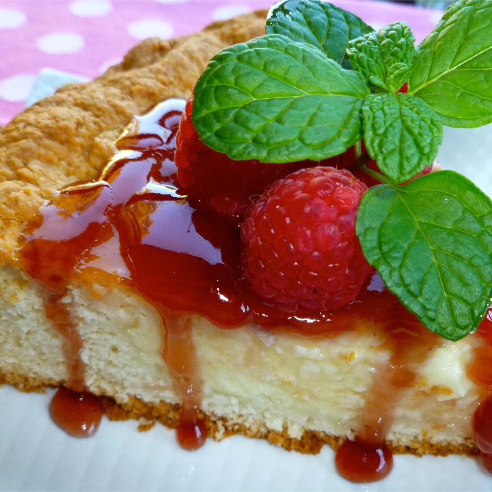 Deep-Dish Cheesecake Coffee Cake