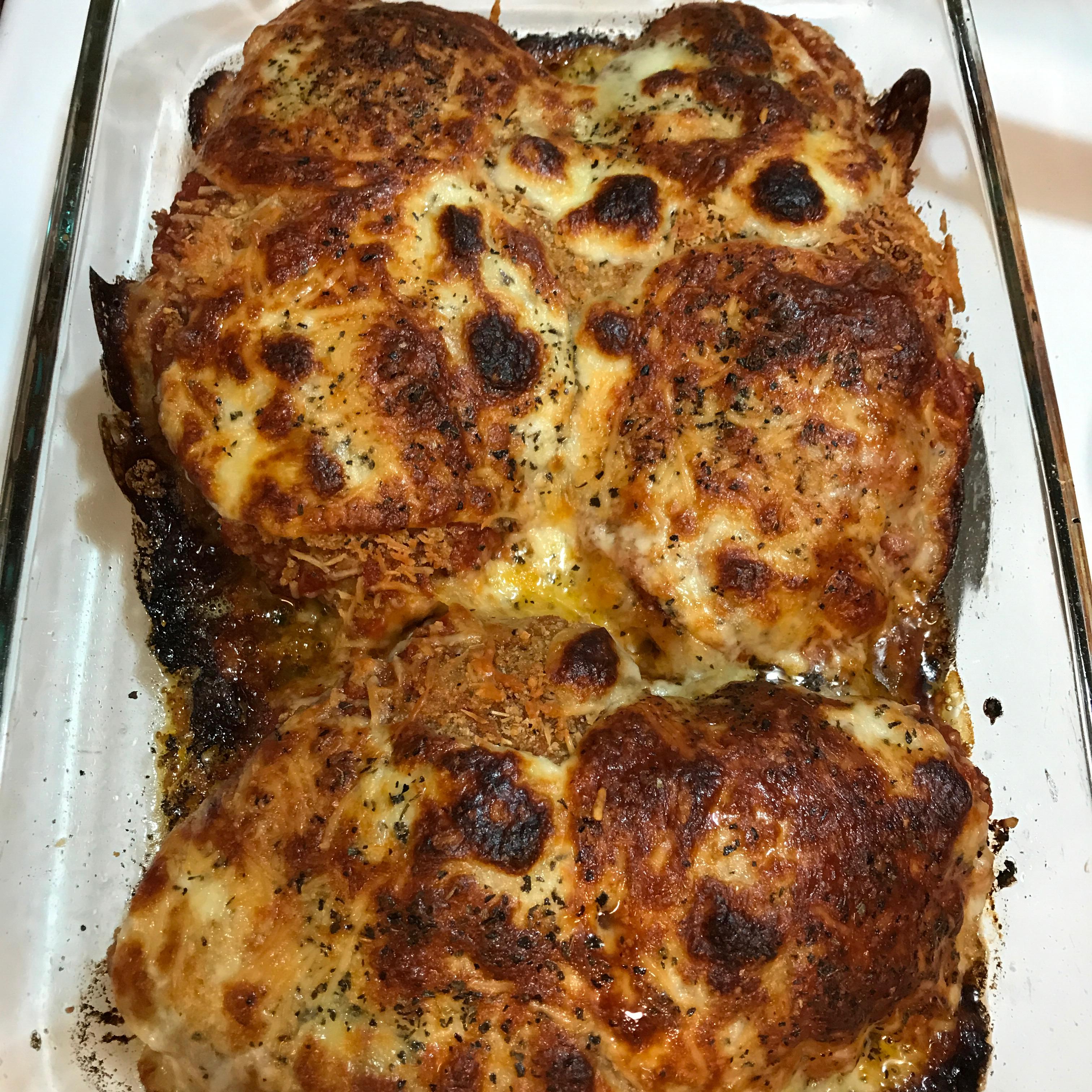 Chicken Parmesan zaykate