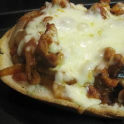 Onion and Sausage Pizza