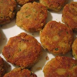 Chickpea Falafel Burgers