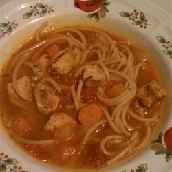 Spaghetti Soup Linda Farrell