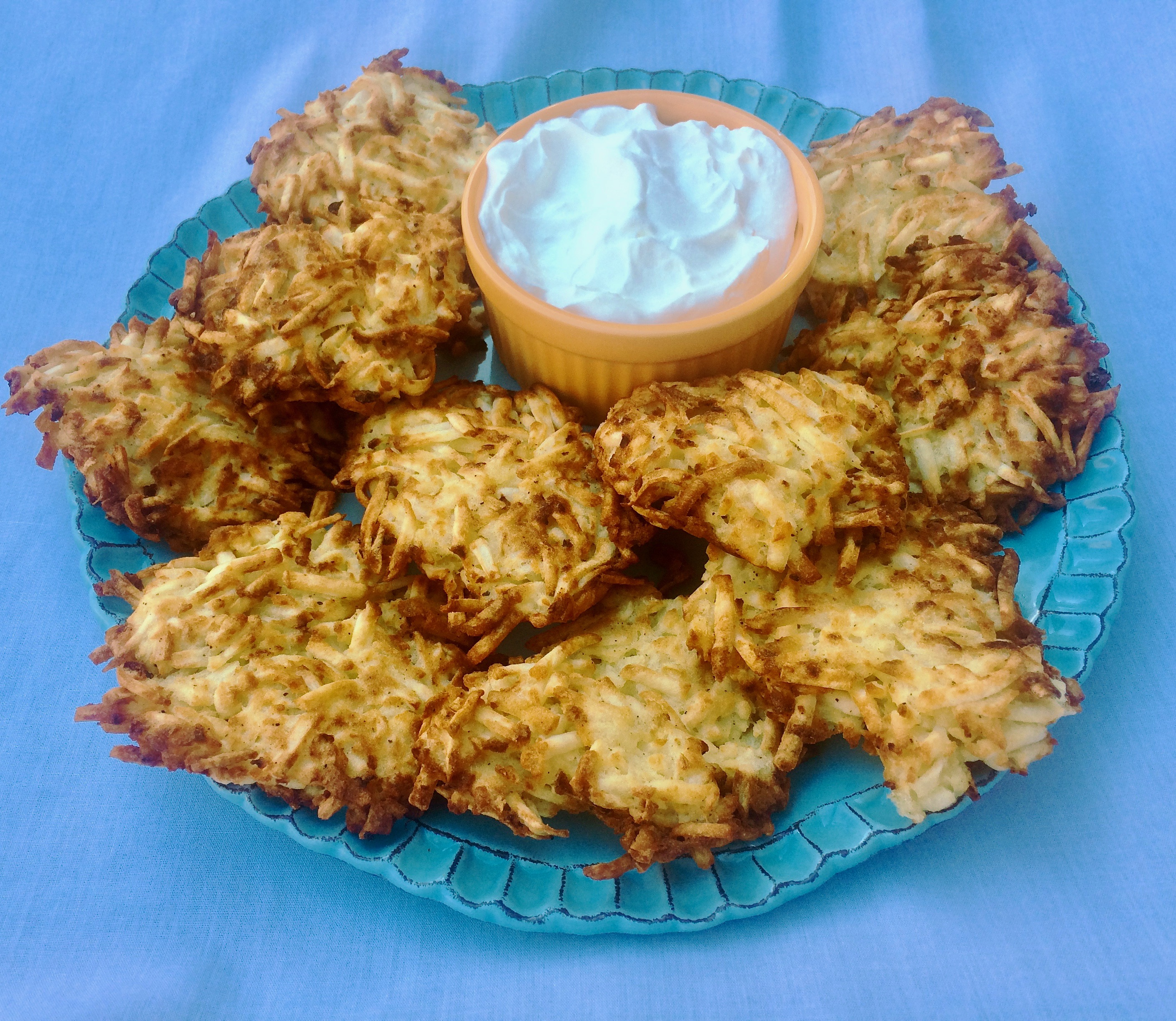 Air Fryer Latkes