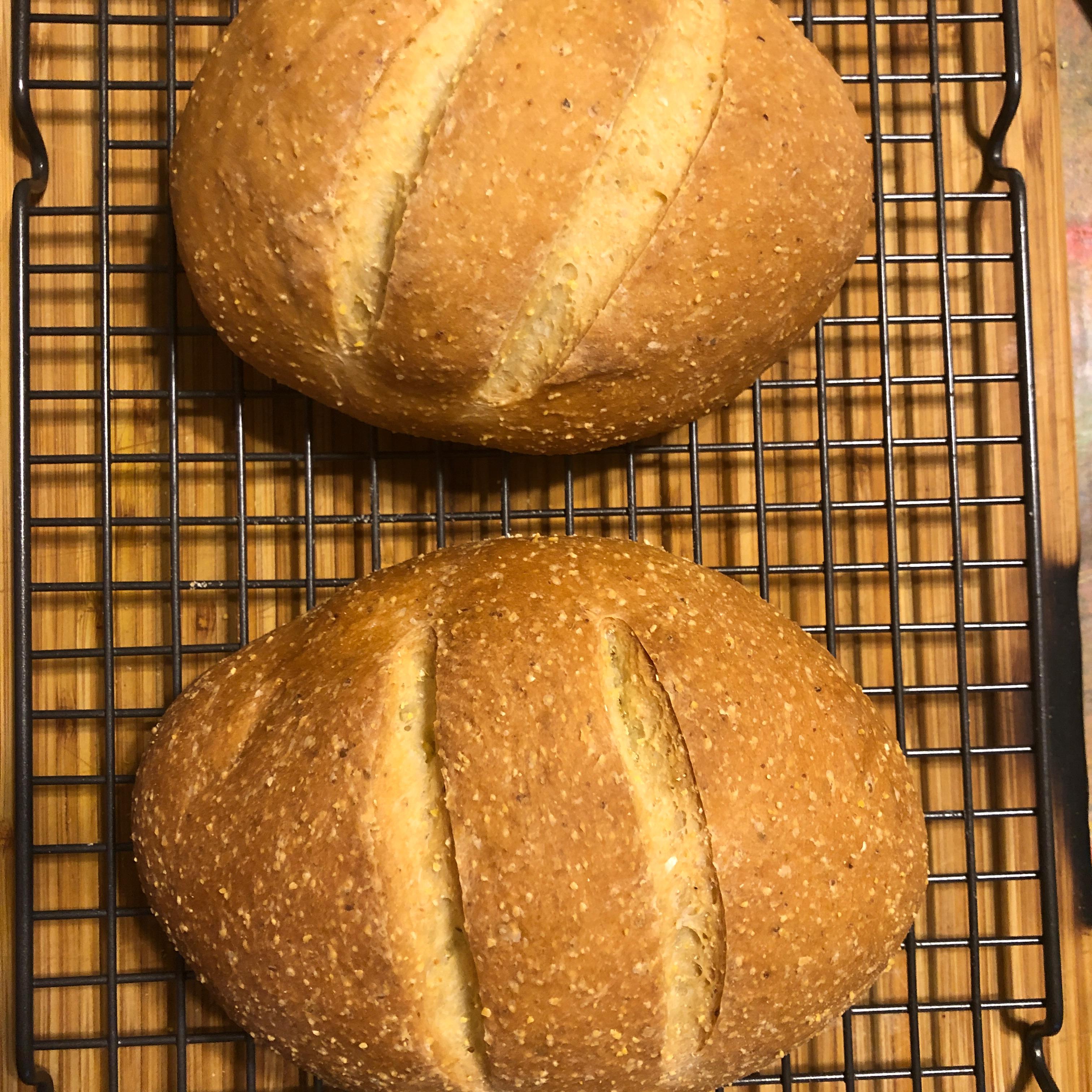 Chef John's Rustic Italian Corn Bread