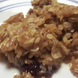 Cranberry Crunch Squares pomplemousse