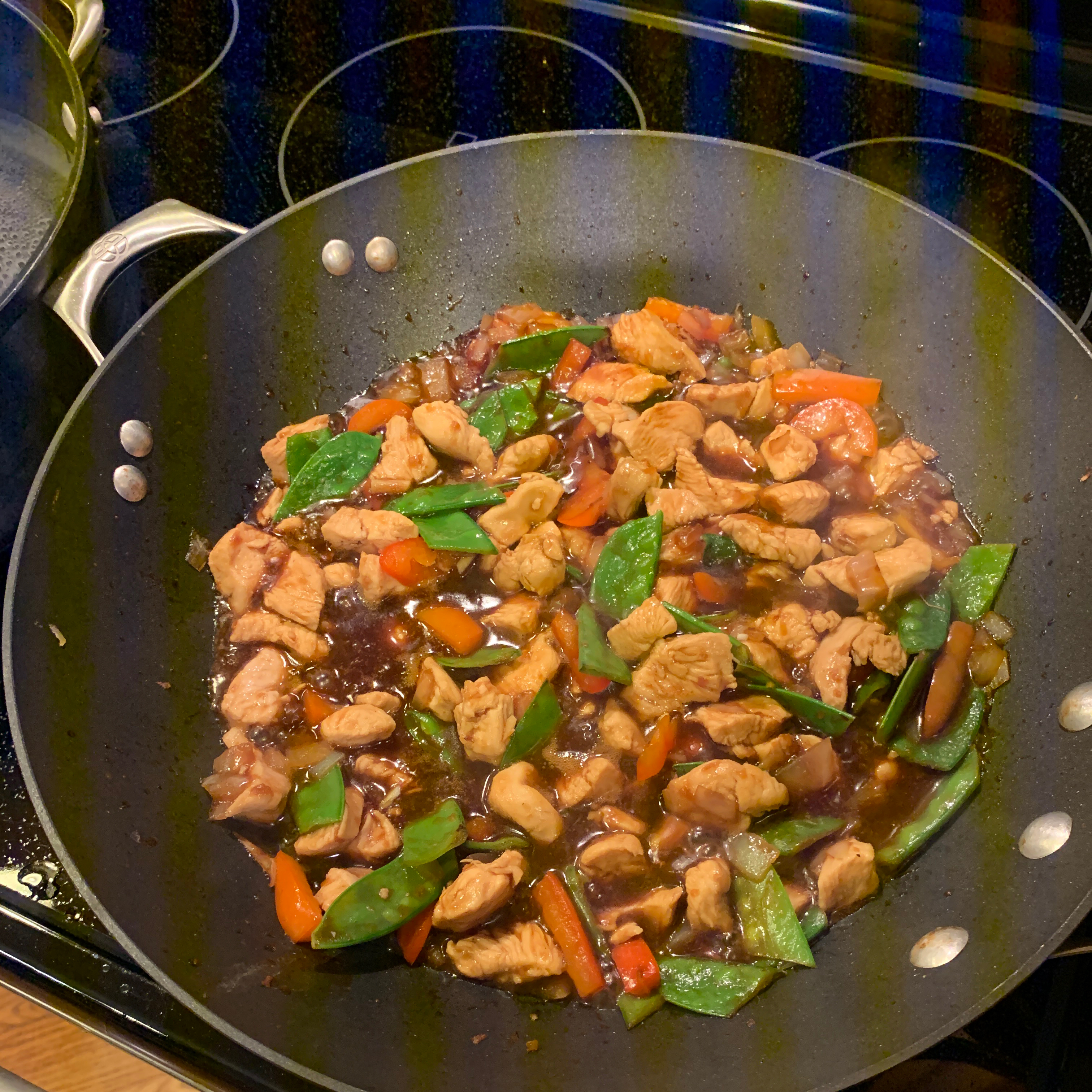 Ginger-Chicken Stir-Fry Acework