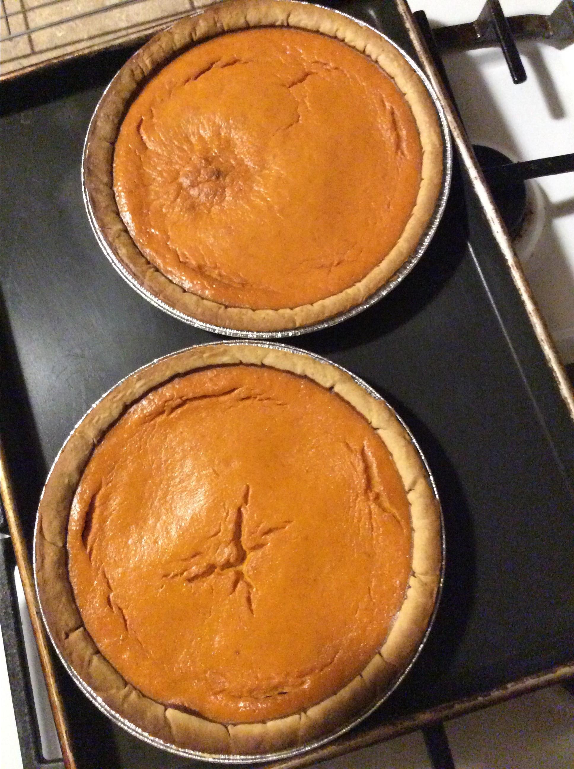 Simple Pumpkin Pie neida
